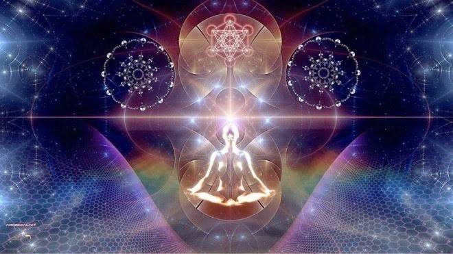 illustration de l'éveil spirituel et kundalini